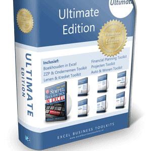 Boekhouden in Excel Ultimate Edition 3.0