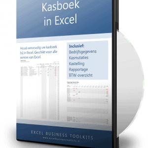Kasboek in Excel