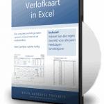 Verlofkaart In Excel DVD 3D 20