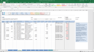 Bankboek in Excel
