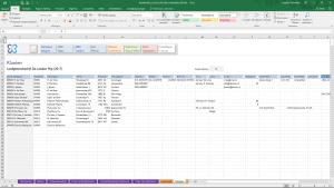 Klanten in Boekhouden in Excel