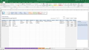 Leveranciers in Excel