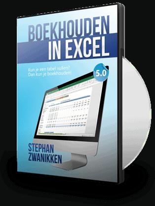 Boekhouden in Excel 5.0