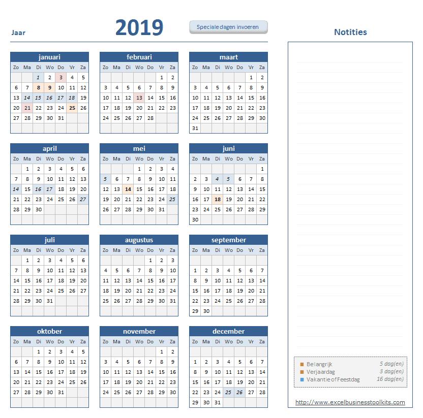 Kalender Toolkit