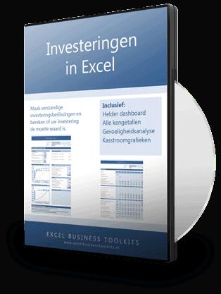 Investeringsselecties maken in Excel