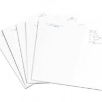 Briefpapier sjabloon in Word