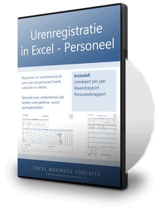 Urenregistratie in Excel - voor horeca en winkel personeel