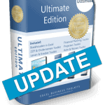 Boekhouden in Excel Ultimate Edition Update