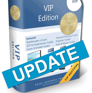Boekhouden in Excel VIP Edition Update