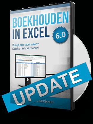 Boekhouden in Excel 6.0 Update