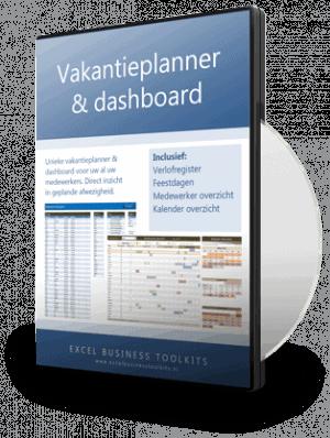 Vakantieplanner in Excel