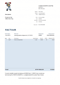 Factuur BTW verlegd 3.0