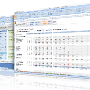 Screendisplay Boekhouden in Excel 3.0