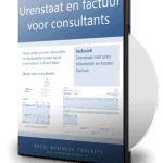 Urenstaat en Factuur voor Consultants en Adviseurs