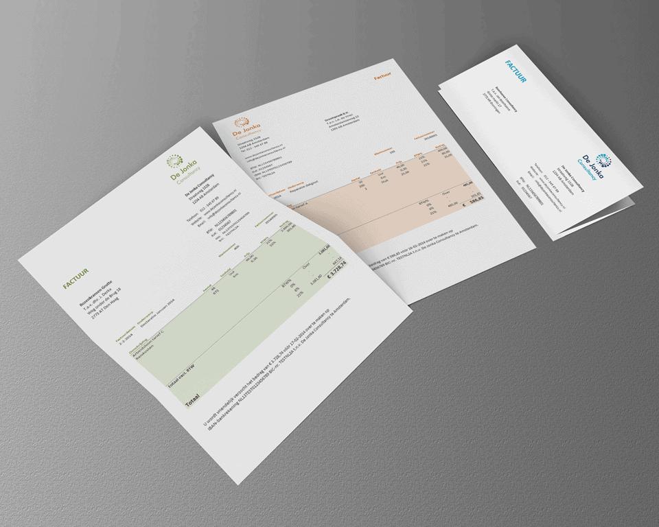 Een factuur maken met Excel ziet er prachtig uit