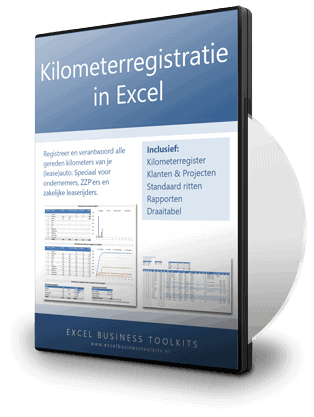 Kilometerregistratie in Excel