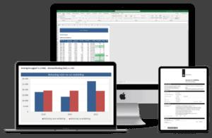 Belasting middeling 2.0 in Excel