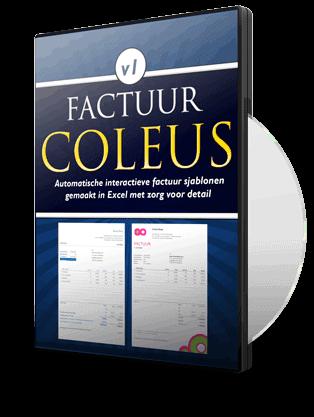 Factuursjabloon Coleus