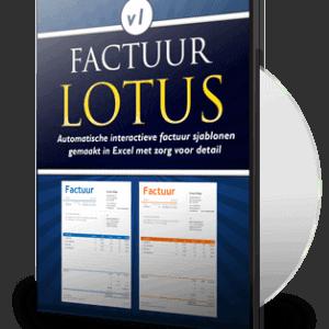 Factuursjabloon Lotus
