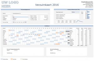 Ziekteverzuim in Excel - Verzuimkaart