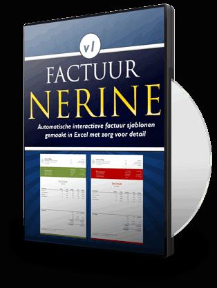 Nerine factuursjabloon in Excel