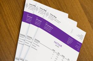 Excel factuur Nerine