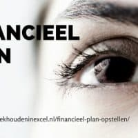 Financieel plan demonstratie