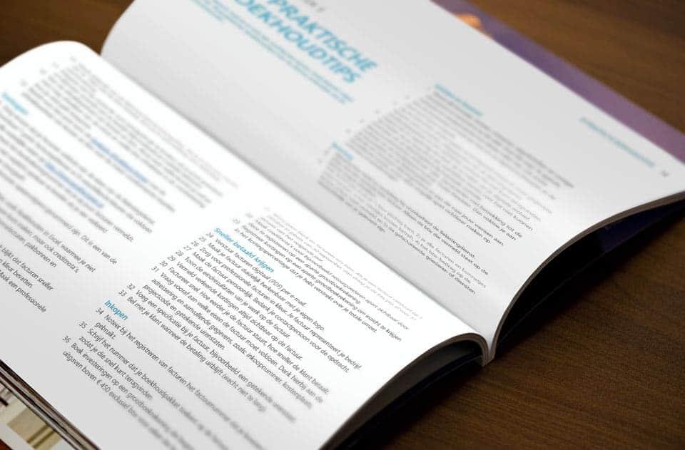 70 praktische boekhoudtips voor ondernemers
