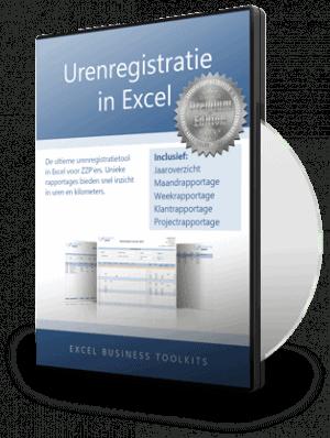 Urenregistratie in Excel Premium