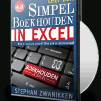 Boekhouden in Excel 4.0 DVD