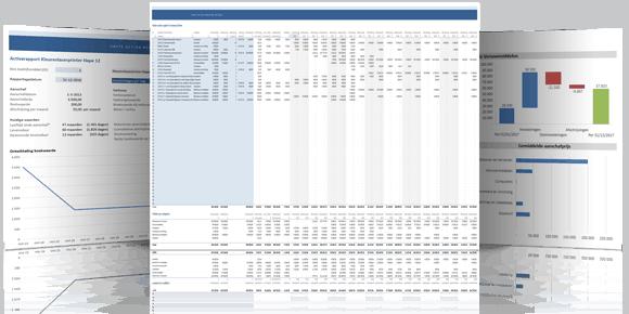 Vaste activa in Excel screenshots