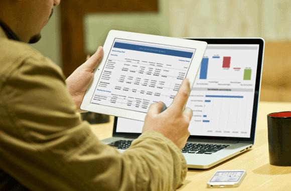 Vaste activa Excel template