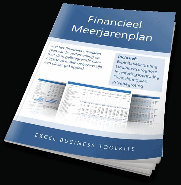 Financieel meerjarenplan handleiding