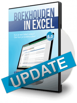 Boekhouden in Excel 5.0 Update