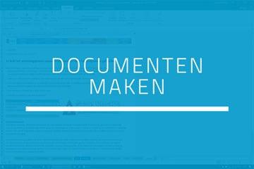Boekhouden in Excel - Stap 4 Documenten maken