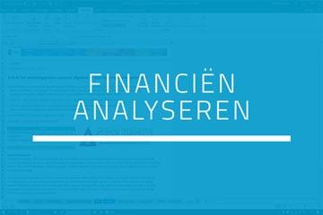 Boekhouden in Excel - Stap 5 Financiën analyseren
