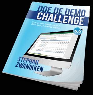 Doe de Demo Challenge van Boekhouden in Excel