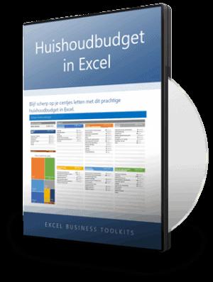 huishoudbudget in excel