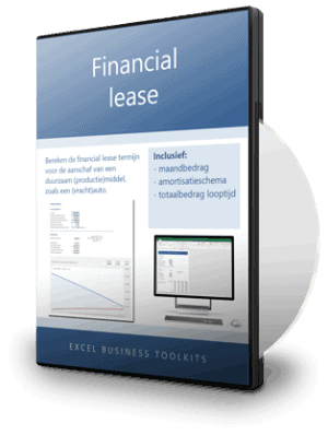 Financial lease berekenen
