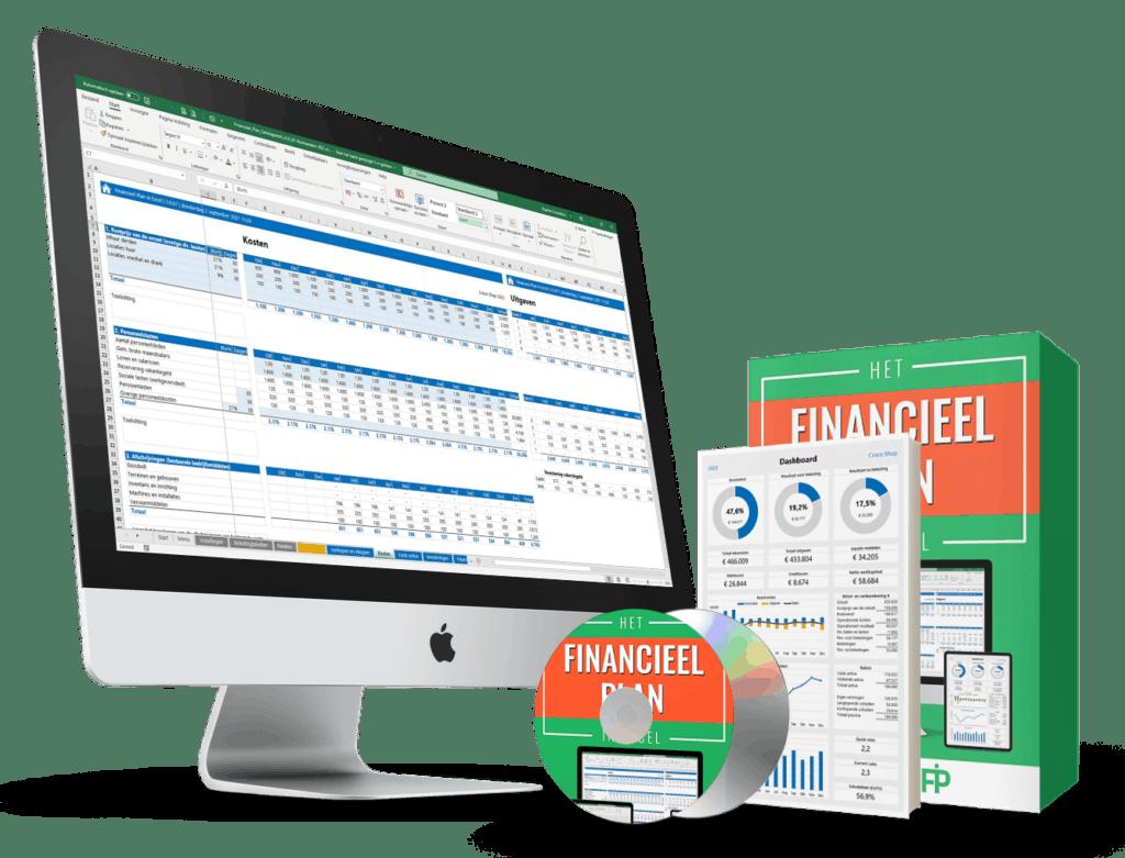 Financiële begroting maken in Excel