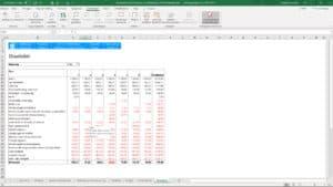 Bewindvoering in Excel 2.0