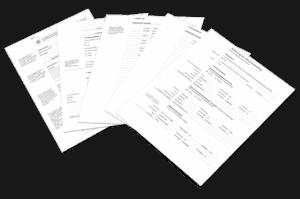 Formulier rekening en verantwoording rechtbank