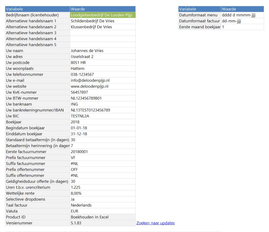 Boekhouden in Excel 5.1 Gebroken boekjaar