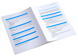 Checklist rekening en verantwoording bewindvoering