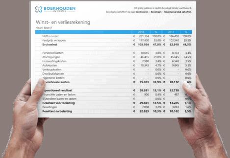 Excel boekhouding templates