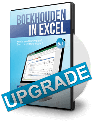 Boekhouden in Excel Upgrade