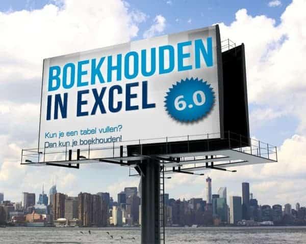 Boekhouden in Excel Upgrade