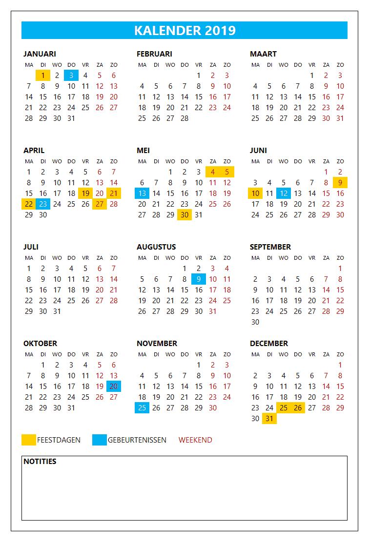 Kalenderontwerp 1