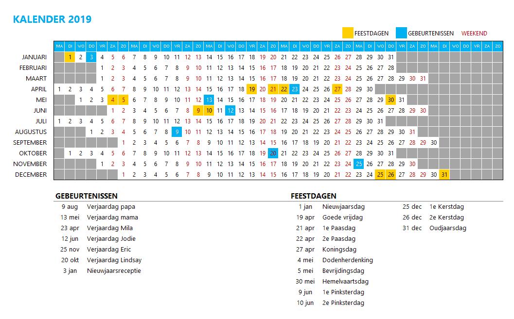 Kalenderontwerp 5