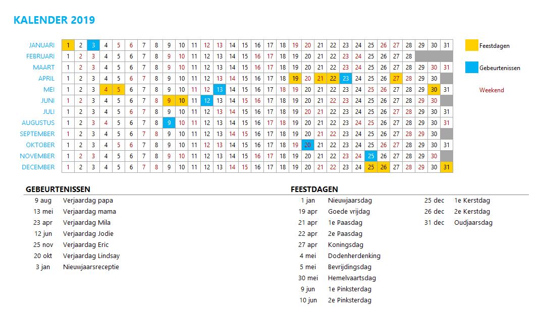 Kalenderontwerp 6